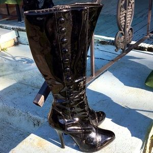 Funtasma Shoes - Victorian Gothic Fetish Boots